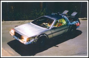 Are you telling me you built a time machine... out of a DeLorean?