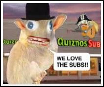 We love the subs! 'Cuz we are filthy rats!