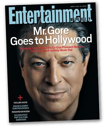 Gore, Entertainment Weekly