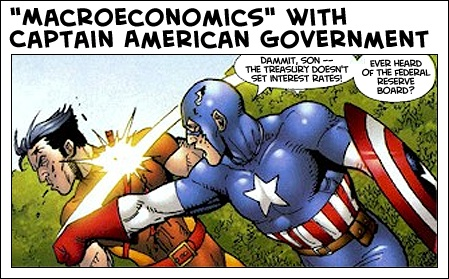 Farewell, Captain American Government : Apropos of Something