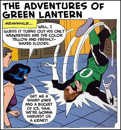 The Adventures of Green Lantern