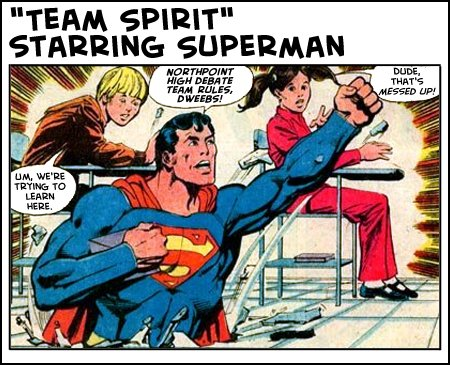 Team Spirit starring Superman