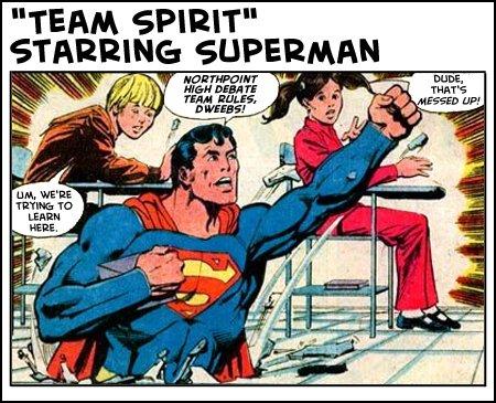 Team Spirit starring Superman