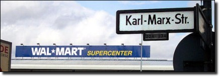 Wal-Mart on Karl Marx Street