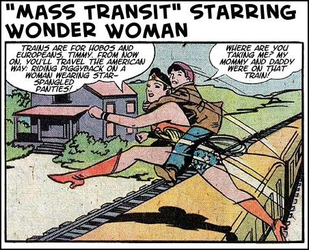 Mass Transit Starring Wonder Woman