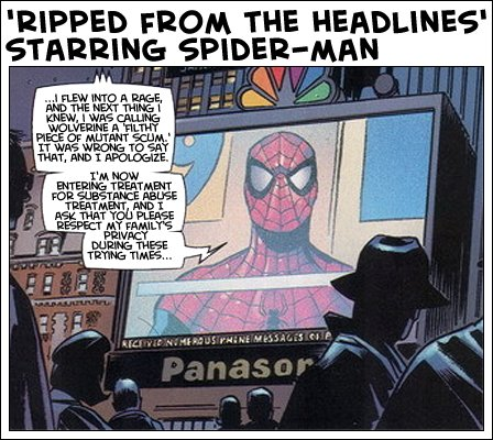 'Ripped from the Headlines' starring Spider-Man
