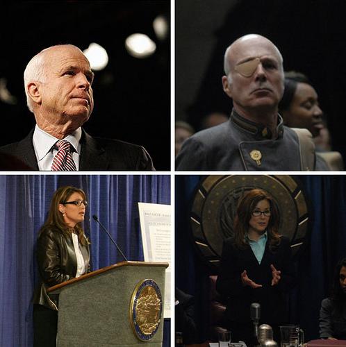 Tigh McCain Roslin Palin